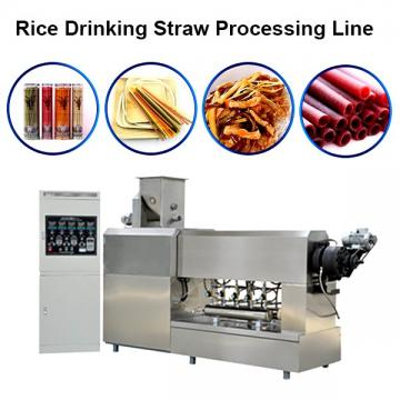 Hot Sale Rice Drinking Straw Processing Line Pasta Macaroni Straw Food Making Machine