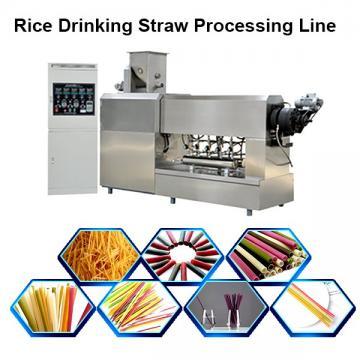 Vegetable Straws Edible Rice Drinking Straws Pasta Rice Straws Making Machinery