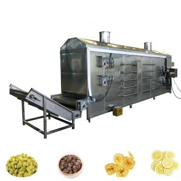1500pounds/H Hemp Cbd Hot Air Continuous Drying System