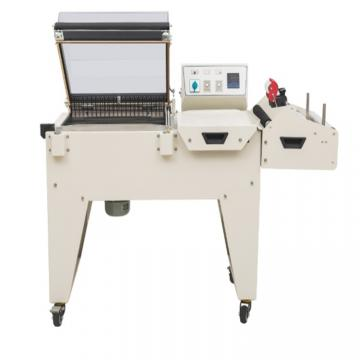 Automatic Heat Hot Sealing Sealer and Shrink Shrinkable Shrinking Film Pack Packer Package Packing Wrap Wrapper Wrapping Machine for Food Packaging/ Bath Packag