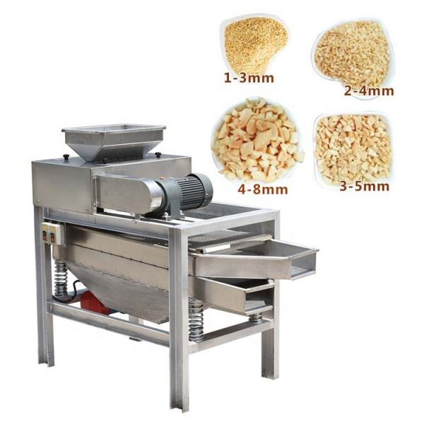 Industrial Groundnut Hazelnut Paste Almond Cashew Nut Tahini Cocoa Bean Grinding Peanut Butter Processing Machine #1 image