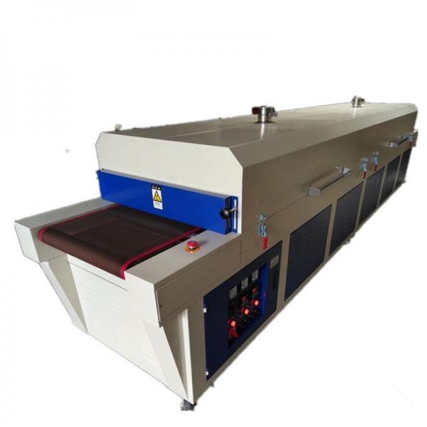 Screen Printing Drying Ink IR Drying Tunnel for Paper Conveyor Drying Tunnel Machine #3 image