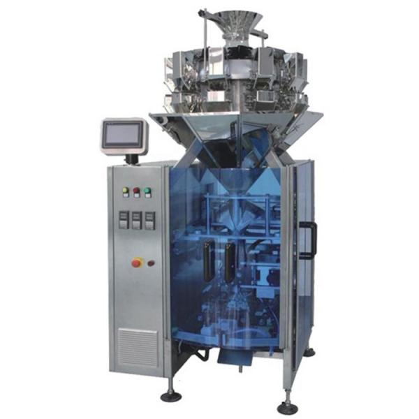 Small Automatic Grain / Granule / Sugar / Snack Food / Nuts / Chocolate Candy Vertical Sachet Weighing Filling Packing Package Packaging Machine #1 image