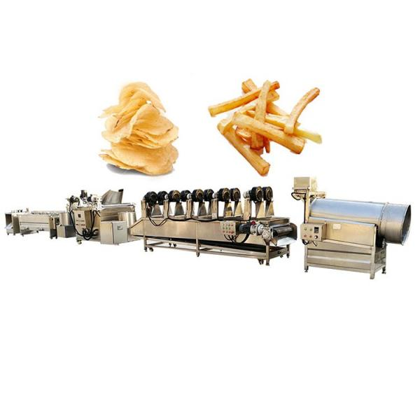 China Supplier Potato Chips Gas Deep Frying Machine for Sale #1 image