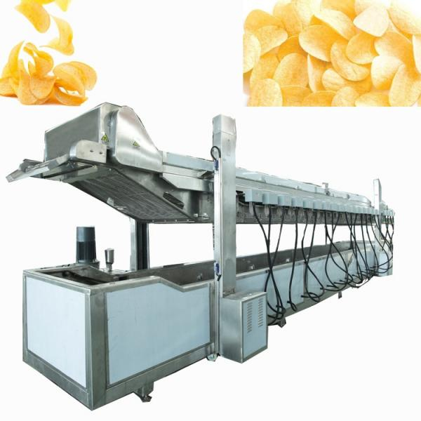 China Supplier Potato Chips Gas Deep Frying Machine for Sale #3 image